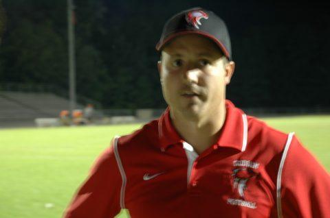 Head football coach John Phillips resigning