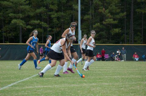 Girl's field hockey vs. Deep Run 10/8/13