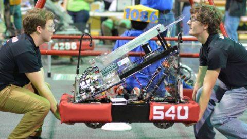 Godwin Robotics team competes in Robot Rumble