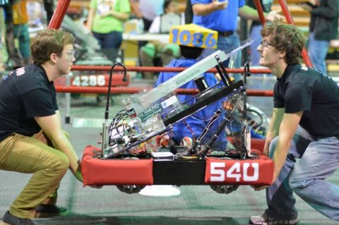 Godwin Robotics team competes in Robot Rumble