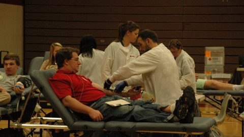 Godwin participates in American Red Cross blood drive