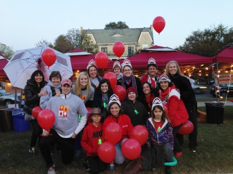 Godwin community participates in Light the Night Walk