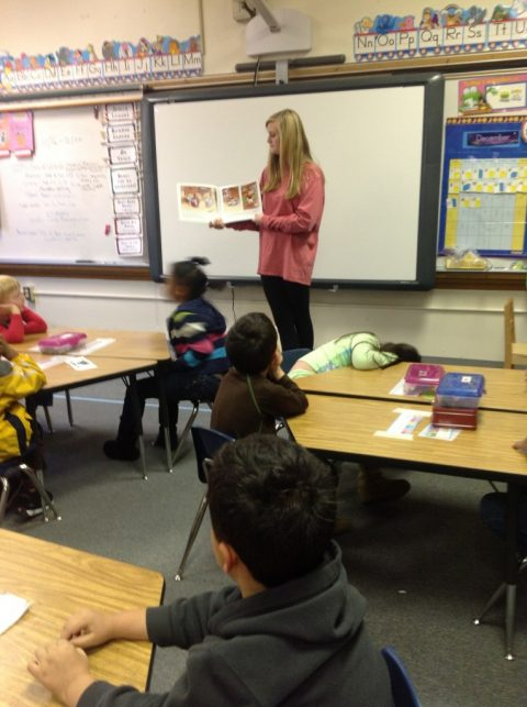 FEA field trips to read to elementary school students