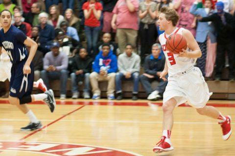Godwin vs. Freeman basketball game