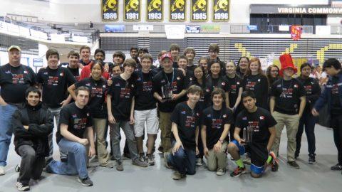 Godwin robotics competes at the 2014 FRC Virginia Regional Tournament