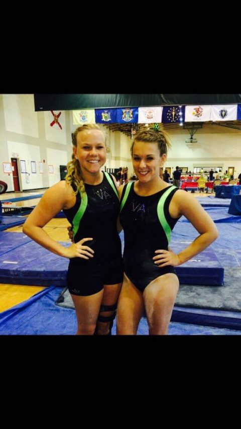 Godwin student competes in national gymnastics event