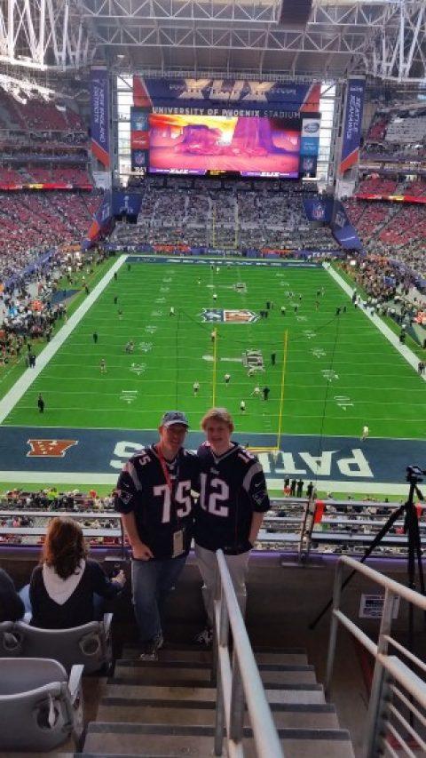 Godwin Junior goes to Super Bowl XLIX