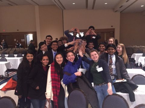 Godwin Model UN club at ODUMUNC