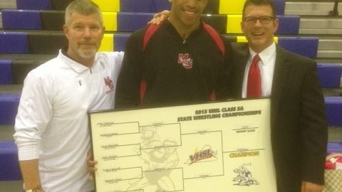 Justice Williams as 5A State Champ