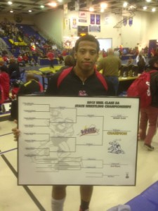 State Champion Justice Williams