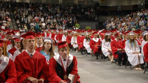 Scenes from Mills E. Godwin Graduation 2015