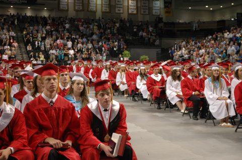 Scenes from Mills E. Godwin Graduation 2015