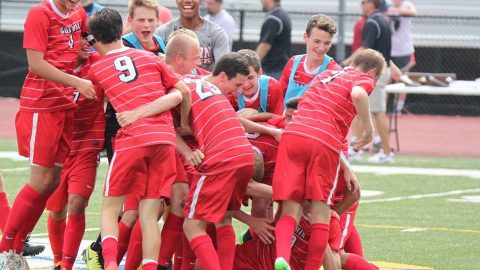 Boys soccer team crowned State Champs