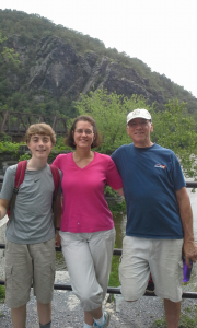 Librarian Brooke Davis and her family visit Harper's Ferry, West Virginia.