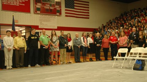 Godwin Veteran's Day Assembly