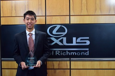 Godwin student nominated for 2015-2016 Lexus of Richmond Pursuit of Perfection Leadership Award