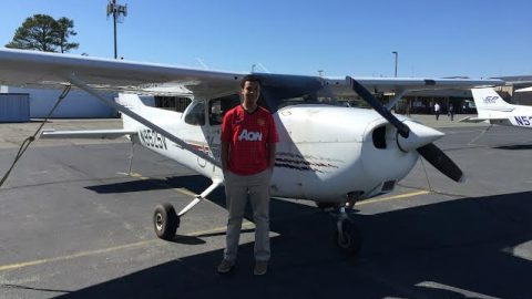Two Godwin students on path to pilot's licenses