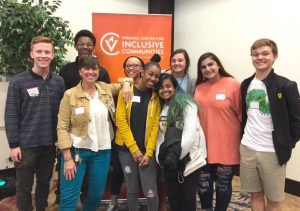 Photo Henrico County Twitter Godwin students that participated in Diversity Day at the University of Richmond