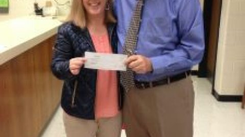 Exxon Mobil grants the Godwin math department $500