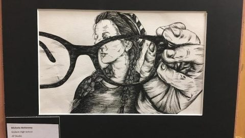 Godwin students show off artwork: by J-1 Correspondent Mason Densley  and Matt Muscarella