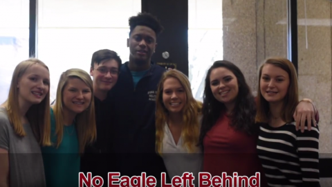 No Eagle Left Behind- by J-1 Correspondent Sarah Burroughs