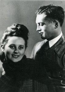 Alan Zimm and Halina Dexler were married in 1948.