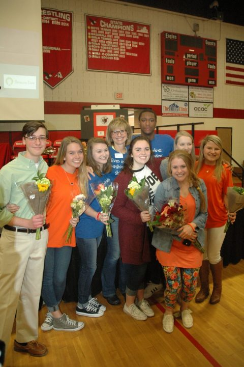 Godwin hosts an assembly for No Eagle Left Behind- by Features and Flair Editor Brittany Bell