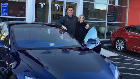 Tesla: Electric, environmentally-friendly, and it's in your teacher's driveway- by J-1 Correspondent Julianna Jett