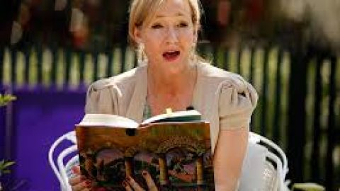 J.K. Rowling, An author saved by her writing- by J-1 correspondent Sarah Burroughs