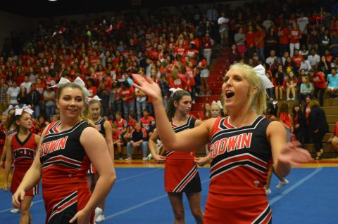 Godwin's first pep rally of the 2017-18 school year