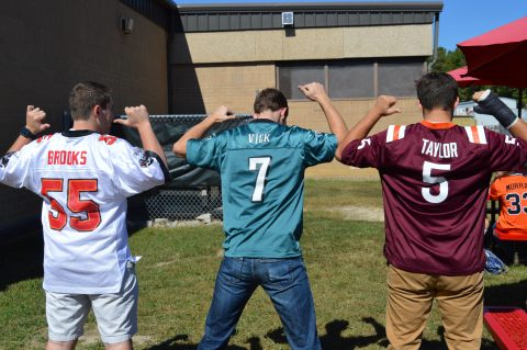 Mathletes and Athletes face off for spirit week