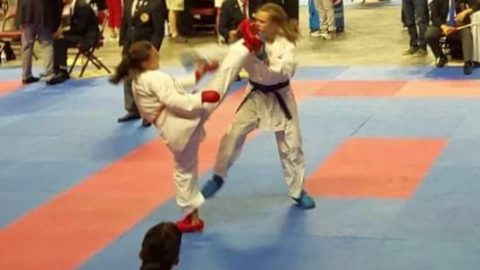 "Godwin's very own ""Karate Kid"""