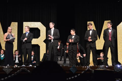 Nick Aaron is crowned Mr. MG of 2017-2018