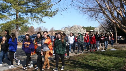 Godwin students participate in National School Walkout