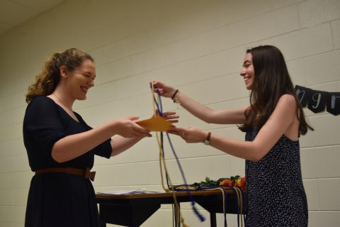 "National English Honor Society ""NEHS"" hosts first annual Senior Goodbye"