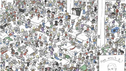 Where's Mills E? Game and Answer!