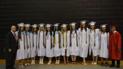 Senior class of 2018 Graduation