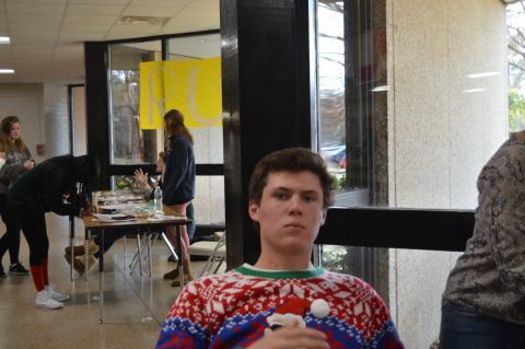 The weather outside is frightful, but spirit week is so delightful