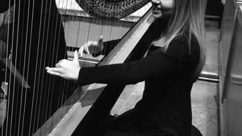 Student harpist travels the world