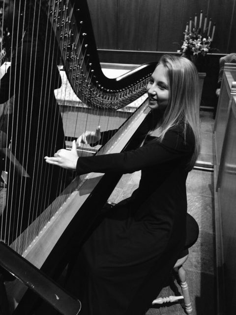 Student harpist travels the world