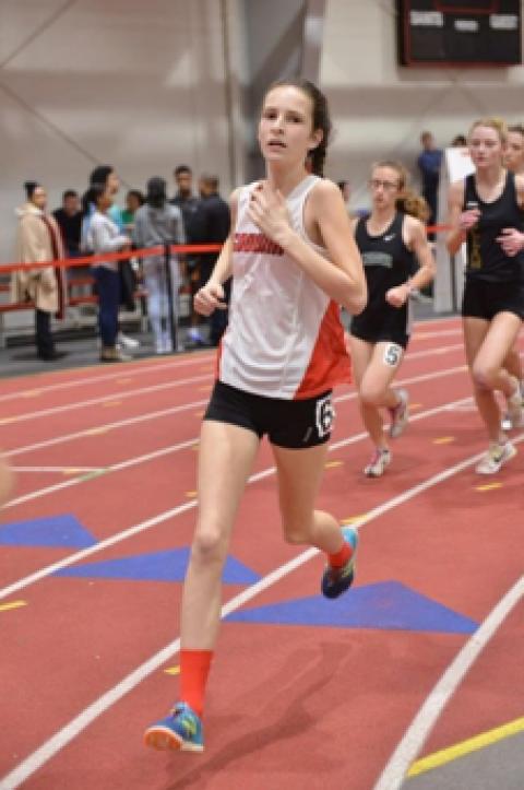 Godwin track athlete overcomes injury with positive attitude