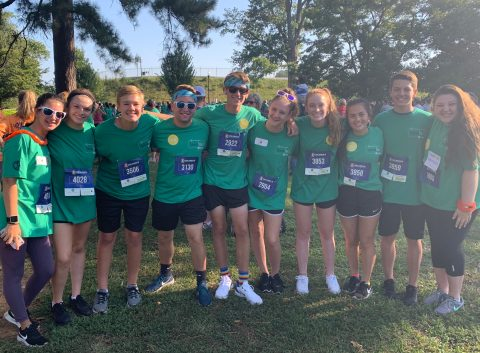 Godwin students walk to spread positivity