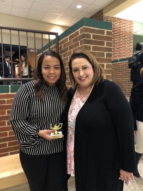 Godwin senior wins Godwin Light of Hope award