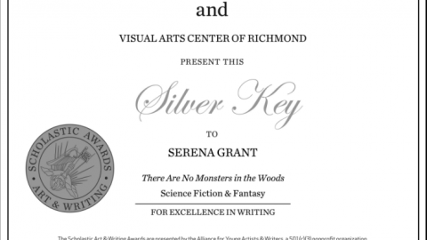 Godwin Junior wins Silver Key writing award